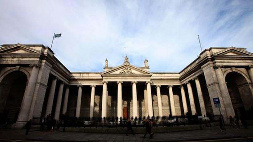 Euro-zone: Die Zentrale der Bank of Ireland in Dublin