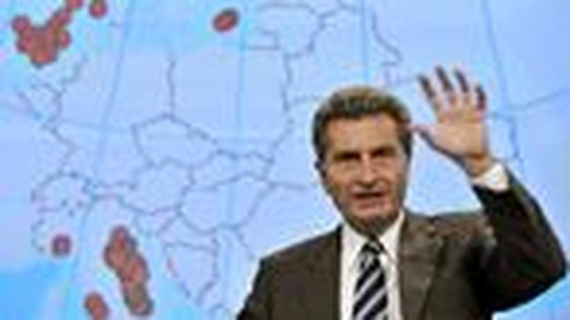 Günther Oettinger: Kommissar für schwierige Aufgaben