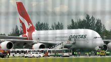 Der in Singapur notgelandete Airbus A380