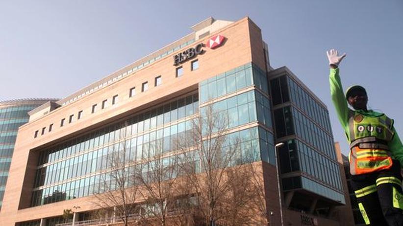 Die HSBC-Bank in Johannesburg