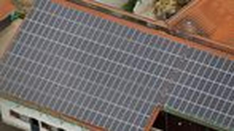 Solarenergie: Feuer auf dem Dach