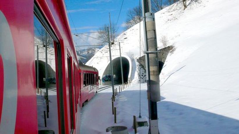 Verkehr: Anderswo fährt die Bahn auch bei Eis