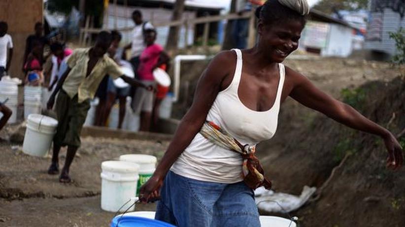 Ein Jahr nach dem Beben: Woran die Hilfe für Haiti krankt