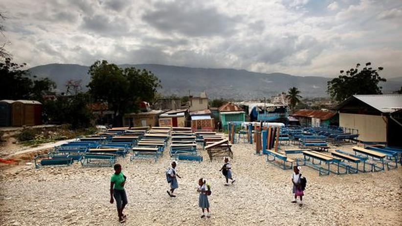 """Haiti: """"Die Menschen sollen wie Menschen leben können"""""""