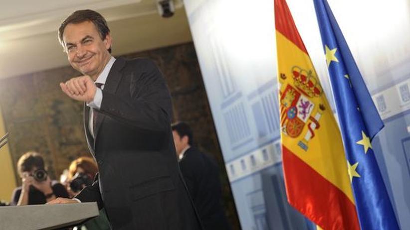 Der spanische Premier José Luis Rodriguez Zapatero
