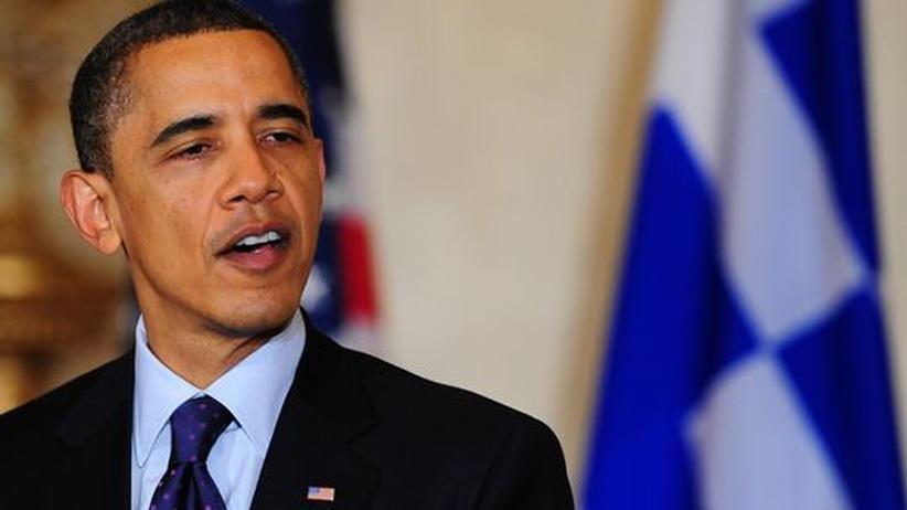 Staatsverschuldung: US-Präsident Barack Obama spricht während eines Empfangs anlässlich des griechischen Unabhängigkeitstages, am 25. März 2011, im Weißen Haus