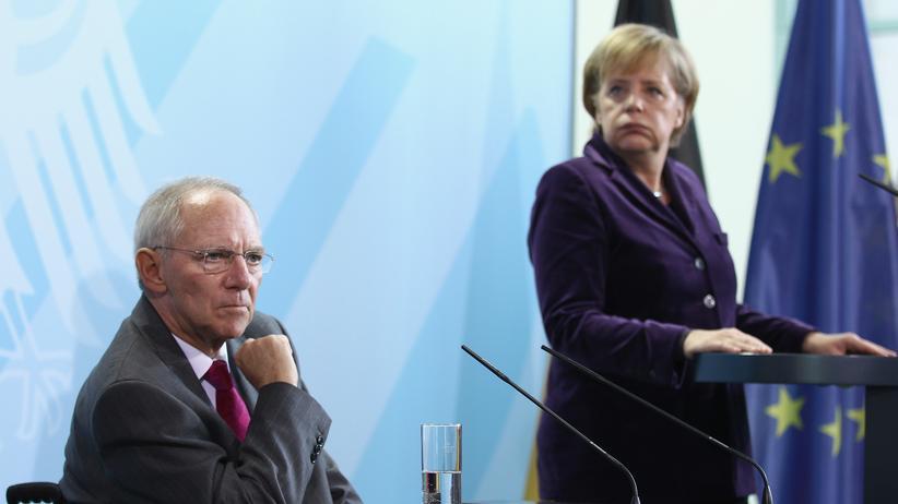 Staatsfinanzen: Schäubles Etat-Diktate