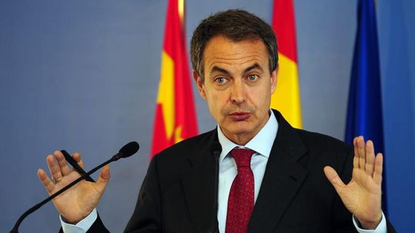 Staatshaushalt: Spaniens Premierminister José Zapatero