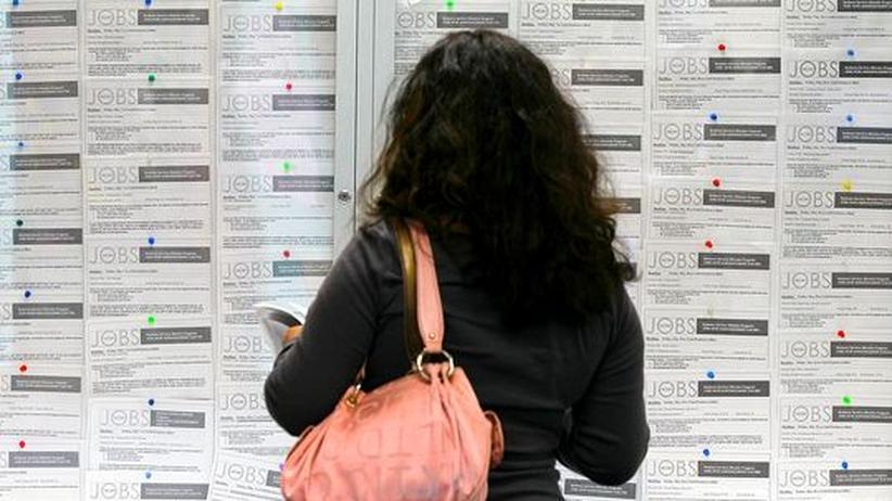 US-Wirtschaft: In den USA steigt die Zahl der Arbeitslosen