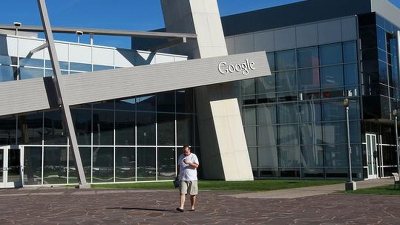 Internet: Die Unternehmenszentrale von Google in Mountain View, Kalifornien