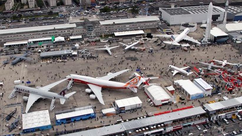 Le Bourget: Milliarden-Aufträge für Boeing und Airbus