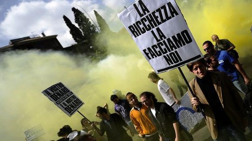 """Italien: """"Das Signal ist eindeutig: Es reicht!"""""""