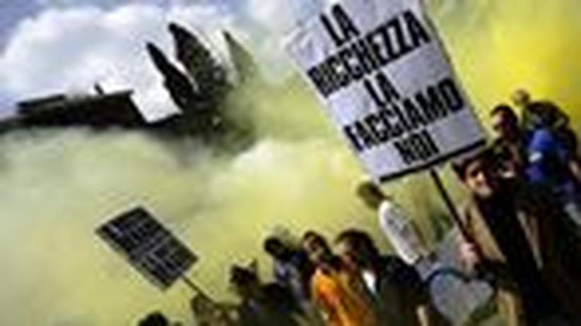 """Italien: """"Politiker sind zu Schauspielern geworden"""""""