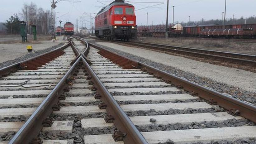 Stuttgart 21: Bahngleise bei Neuseddin (nahe Potsdam)