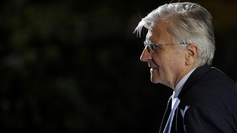 Schuldenkrise: Jean-Claude Trichet, Präsident der Europäischen Zentralbank, nach dem europäischen Krisengipfel am 21. Juli 2011