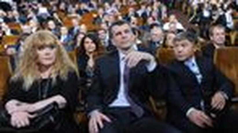 Russland: Michail Prochorow, Marionette ohne Strippen