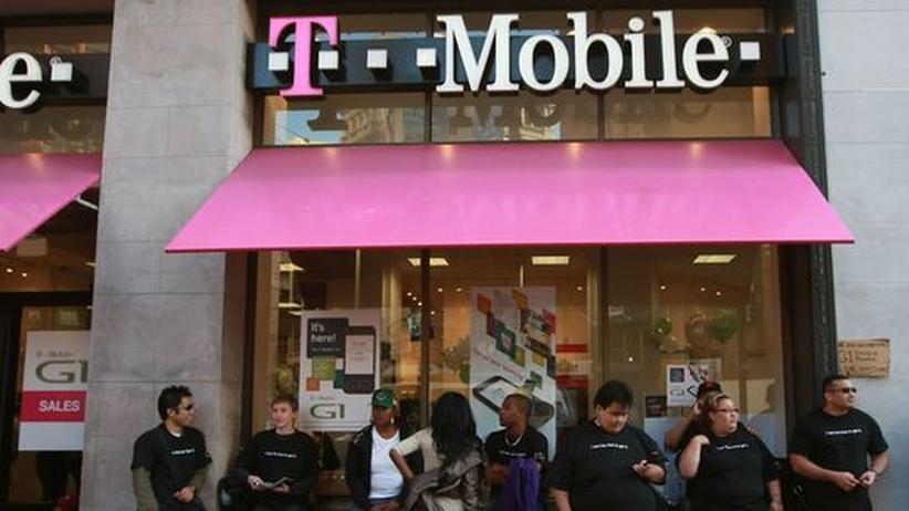 Eine Filiale von T-Mobile USA in San Francisco