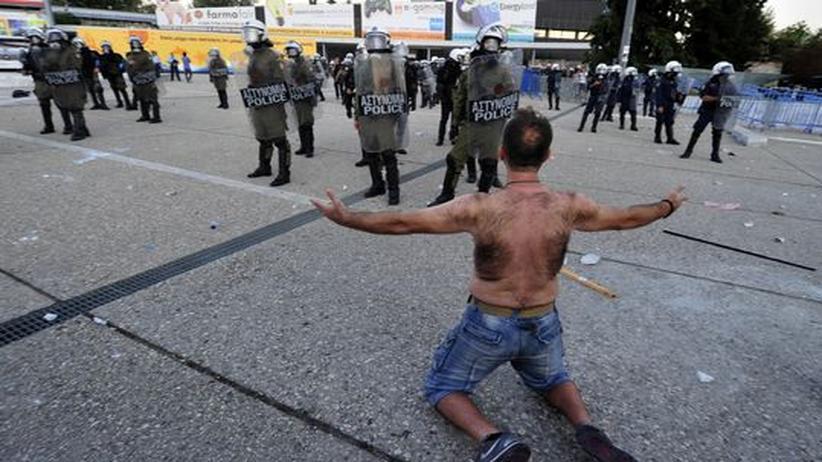 Schuldenkrise: Spekulationen um angeblich bevorstehende Insolvenz Griechenlands