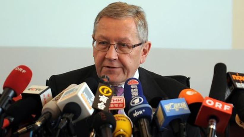 Klaus Regling: Rettungsfonds-Chef wirbt in China um Geld