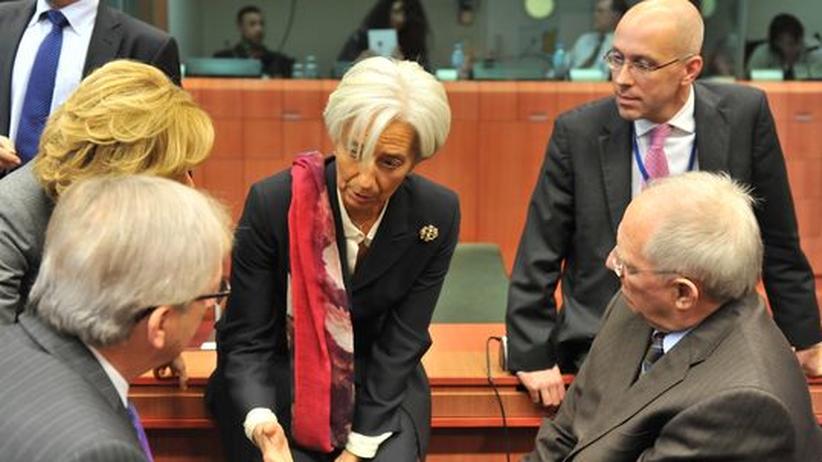 Euro-Gipfel: Finanzminister rüsten Banken gegen die Krise
