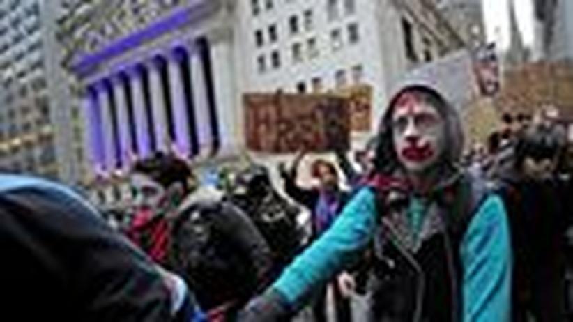 Occupy Wall Street: Aufstand mit bescheidenen Hoffnungen