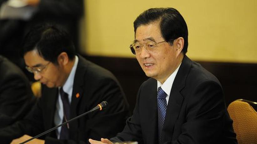 Schuldenkrise: Chinas Staatspräsident Hu Jintao
