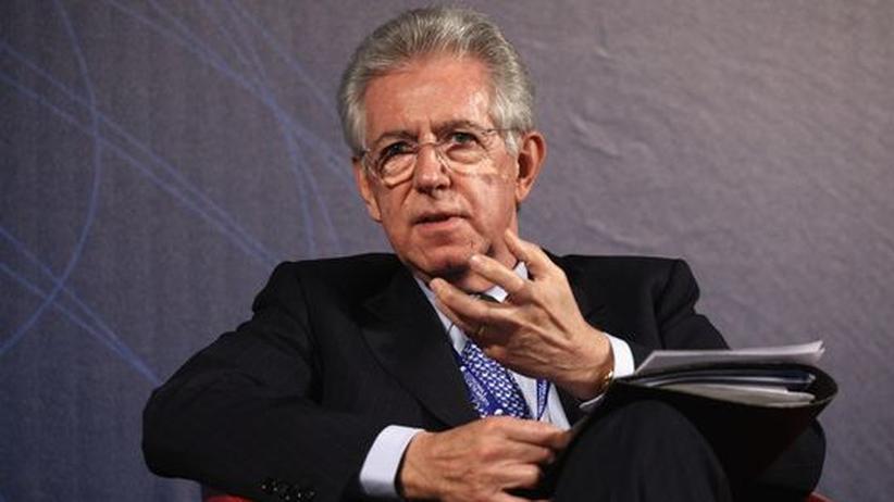 Italiens künftiger Ministerpräsident Mario Monti