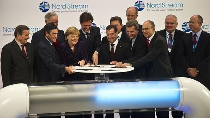 Erdgas: Nord-Stream-Pipeline geht in Betrieb