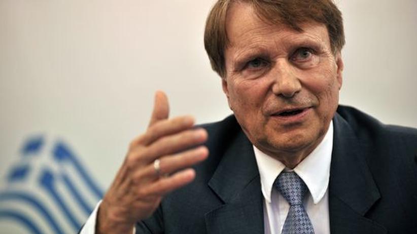 Horst Reichenbach leitet die Task-Force der EU-Kommission für Griechenland.