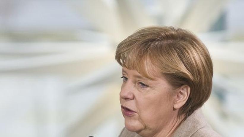Schuldenkrise: Bundeskanzlerin Angela Merkel
