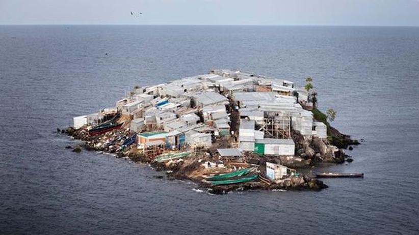 Insel Migingo: Fels der Gier