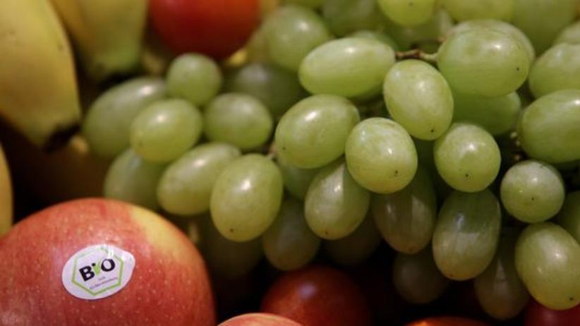 Gütesiegel: Bio-Obst auf einer Fachmesse in Nürnberg (Archivbild)
