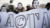 """Protest gegen das Acta-Abkommen in Sofia im Jahr 2012: """"Wir rebellierten dagegen"""""""
