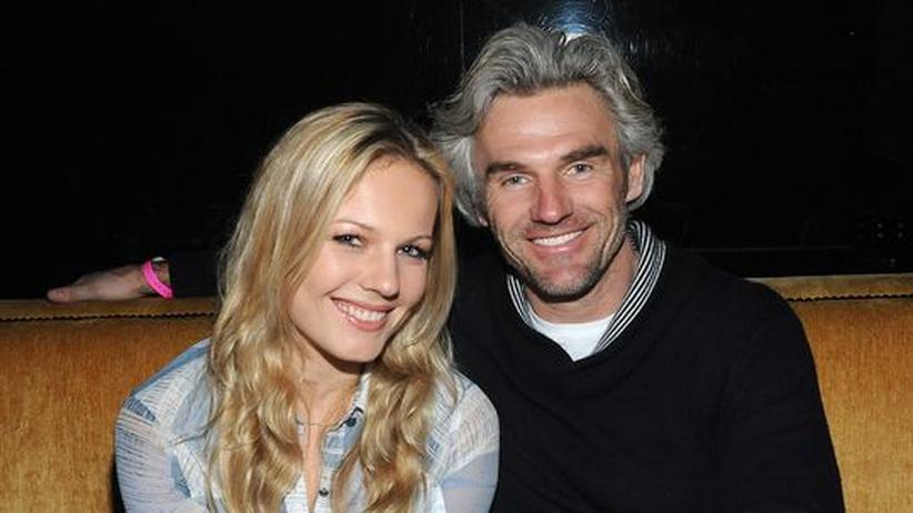 Robert Dekeyser mit seiner Tochter Carolin, die den Showroom von Dedon in Hamburg leitet.
