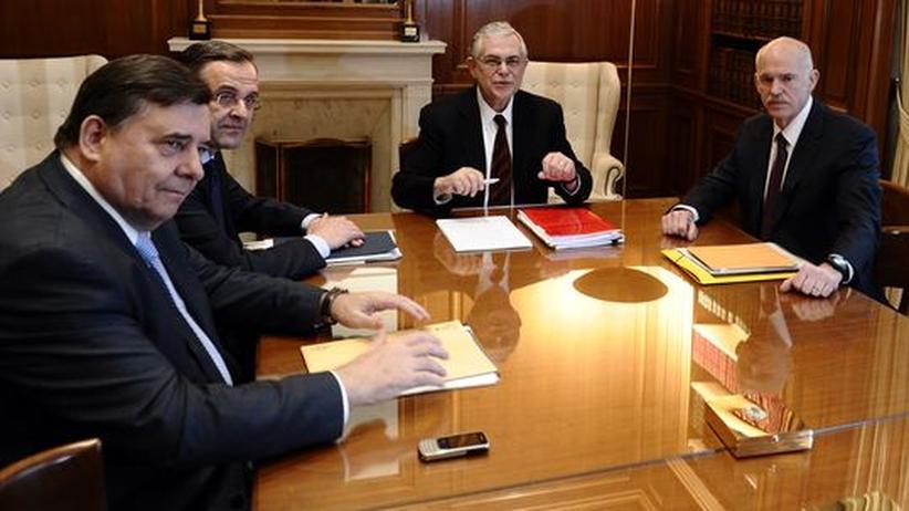"""Schuldenkrise: Verhandlungen in Athen stehen auf """"Messers Schneide"""""""