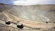 Kupfermine in Chuquicamata, Chile