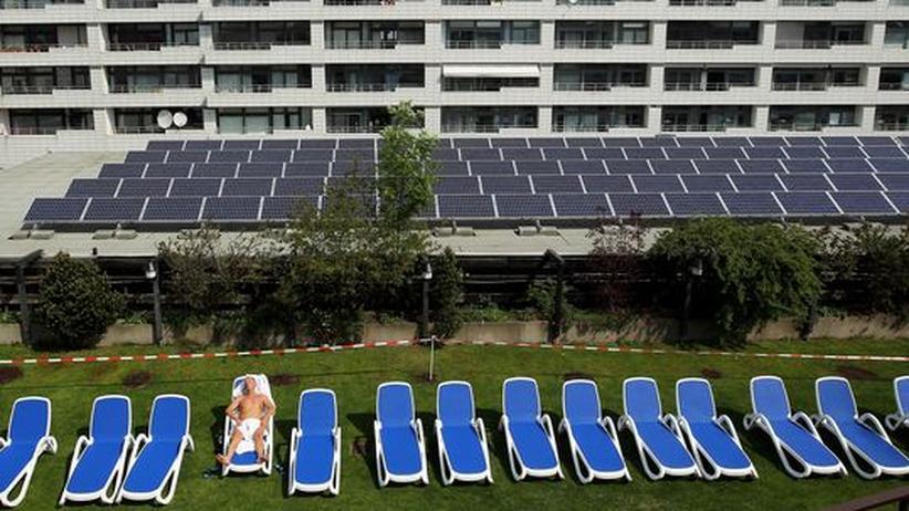 Solarkrise: Solarmodule auf den Dächern von Berlin