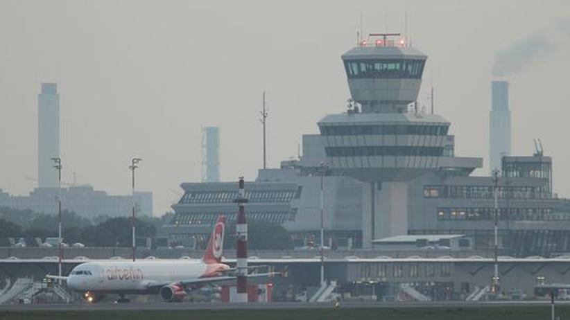 Arbeitskampf: Warnstreik am Flughafen Berlin-Tegel beendet