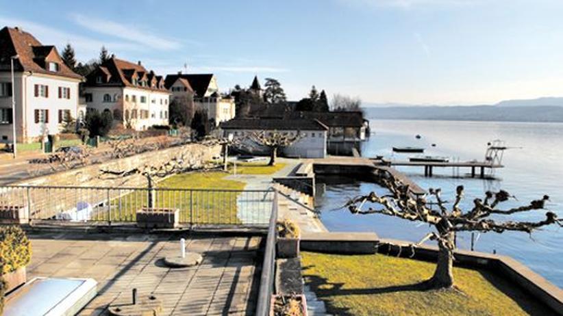 Reiche Schweizer: Die Gemeinde Zollikon im Kanton Zürich