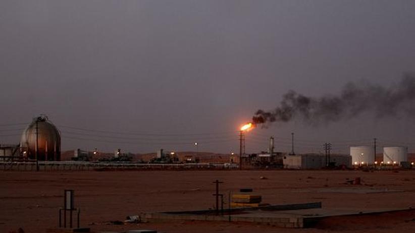 Öl-Raffinerie in Saudi-Arabien