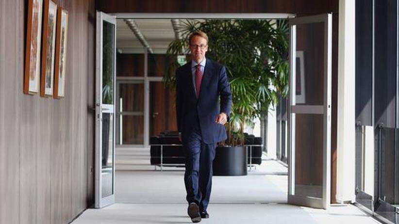 Bundesbank: Bundesbankchef Jens Weidmann am Tag seines Amtsantritts im vergangenen Mai