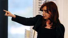 Cristina Fernández de Kirchner kündigt die Enteignung von Repsol-YPF an.