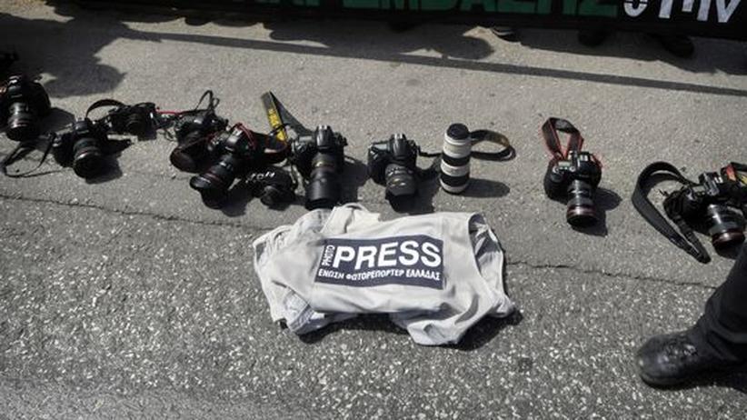 Schuldenkrise: Griechenlands Medienhäuser fürchten den Kollaps