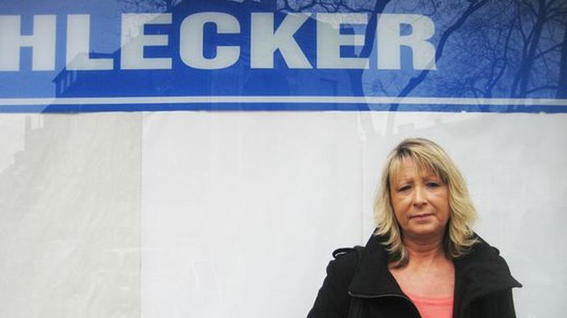 Schlecker-Insolvenz: Frau Kaaf besucht eine Jobbörse