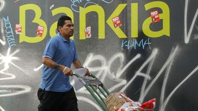 Schuldenkrise: Bankia benötigt 19 Milliarden Euro von Spanien