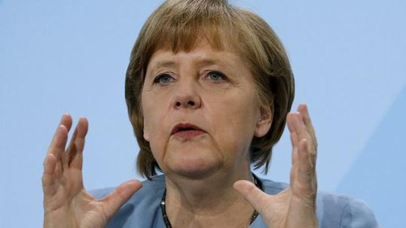 Energiewende: Merkel will Ausbau der Stromtrassen beschleunigen