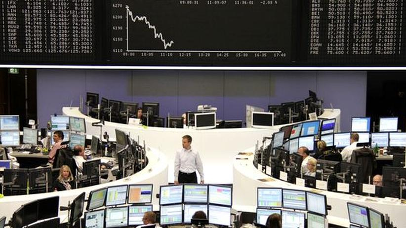 Konjunktur: Aktienkurse fallen nach schlechten Arbeitsmarktdaten