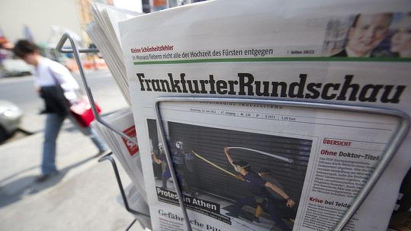 """Verlage: DuMont widerspricht Spekulationen über Ende der """"Frankfurter Rundschau"""""""