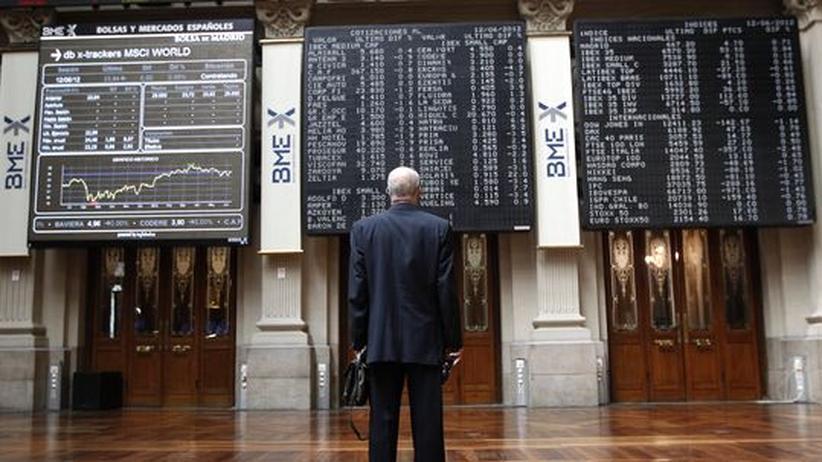 Die Börse in Madrid