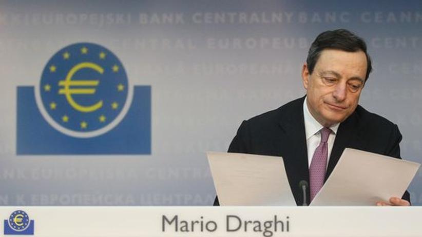 Euro-Krise: EZB belässt Leitzins bei einem Prozent